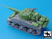 1/35 British Sherman Firefly Hessian Tape Camouflage