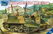 Universal Carrier Mk.I w/Crew and Photo-etched Parts PRE-ORDER