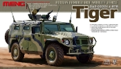 GAZ233014 STS Tiger Russian Armored High-Mobility Vehicle