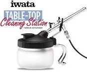 Deluxe Table Top Cleaning Station