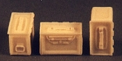 1/35 .50 Cal. Ammo Boxes Allied, WWII