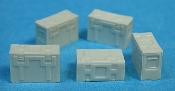 1/35 British Empire Steel Munition Boxes B166 Mk. II