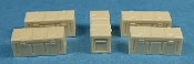 1/35 WWII British Empire Steel Munition Boxes B167 Mk. I