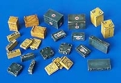 1/48 Ammunition and Medical Aid Containers - Germany WWII