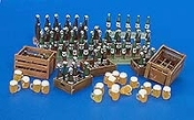 1/35 Beer Bottles and Crates