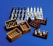 1/35 Milk Bottles and Crates