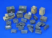 1/35 Ammunition and Medical Aid Containers - Germany WWII
