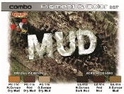 Mud Pigment & Color Acrylic Set (6 22ml Bottles)