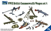 WWII British Commonwealth Weapon Set A
