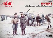 Bf 109F-4 with Luftwaffe Personnel