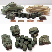 1/72 Allied Fuel Drums