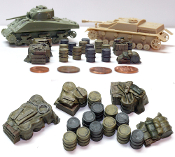 1/72 German Fuel Drums