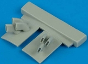 1/48 F4U2 Bird Cage Exhaust for TAM