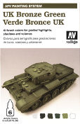 AFV Painting System - UK Bronze Green