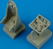 1/48 Ju87B Stuka Seats w/Safety Belts for HE