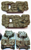 1/35 Sandbag Fronts for M4A3 Sherman SB2 (2 Pack)