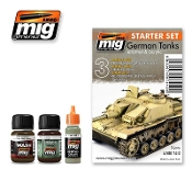 GERMAN TANKS -STARTER SET