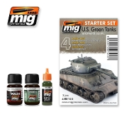 US GREEN VEHICLES SET - STARTER SET