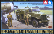US Airfield Fuel Truck - 2 1/2 Ton 6x6