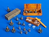 1/35 German grenades and mines
