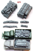 "1/72 German Truck Blobs""GT1"""