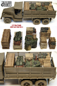 1/35 Allied Truck Load Set #1