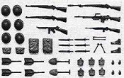 US Infantry Equipment