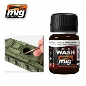 DARK BROWN WASH FOR GREEN VEHICLES