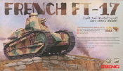 French FT-17 Light Tank Riveted Turret