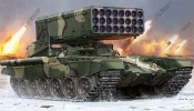 Russian TOS1 24-Barrel Multiple Rocket Launcher