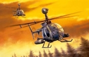 MD530G (MMS) Gunship Helicopter