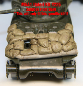 1/35 Sandbag Fronts for Italeri M4A1 Sherman