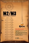 M2/M3 Bradley Family Update Set - Big Foot Metal Track & Bushmaster Metal Gun Barrel
