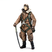 Shinden -Standing Pilot Figure in 1/48 scale