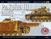 Mini Topcolors: PzKpFw III Family
