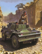 British Dingo II Armored Scout Car