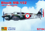 Bloch MB 152 WWI French Fighter Early