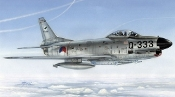 F86K Sabre Dog All-Weather Fighter w/Dutch, Italian & Norwegian Markings