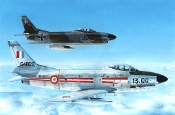 F86K Sabre Dog Fighter w/Armee de l' Air & Bundesluftwaffe Markings
