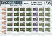 1/35 Russian modern ration boxes IRP-P