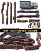 "1/72 Sand Bag Walls ""Checkpoint"""
