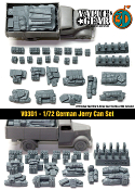 1/72 German Jerry Can Set