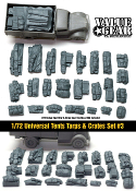1/72 Tents, Tarps & Crates Set #3