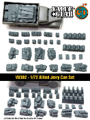 1/72 Allied Jerry Can Set