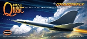 "Jonny Quest: Dragonfly Supersonic Suborbital Aircraft (12"" long)"
