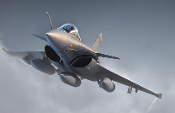 French Rafale C Fighter