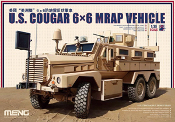 U.S. Cougar 6x6 MRAP Vehicle