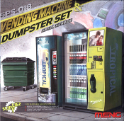 Vending Machines & Dumpster Set