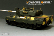 1/35 Modern German Leopard 1A3 MBT (Gun barrel Include) (For MENG TS-007)