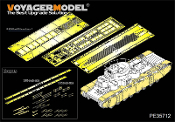 1/35 WWII Russian T-35 Heavy Tank Fenders/Track Covers (For HobbyBoss 83841)